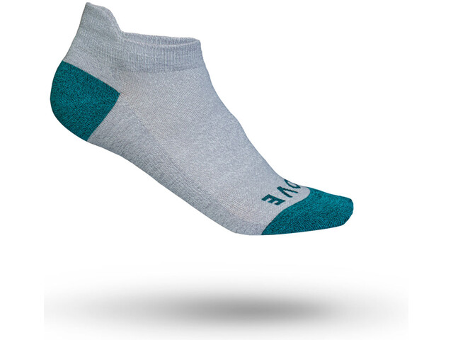 GripGrab Classic No Show Cycling Socks Damen grey